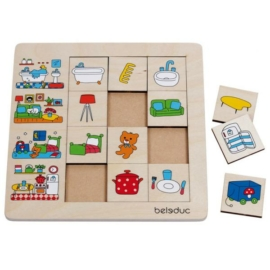 Otthonunk: Szortírozó puzzle - Beleduc