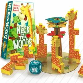 Éhes zsiráfok - Ügyességi társasjáték - Fat Brain Toys