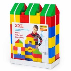 Óriás építőkocka, 36 darabos - Wader