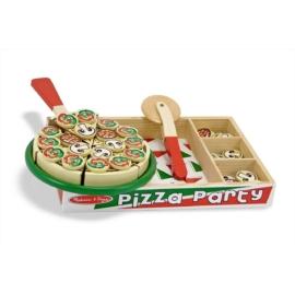 Melissa & Doug - Pizza party sütős főzős szerepjáték