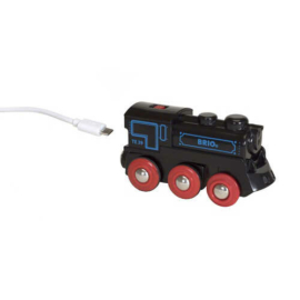 Tölthető Mozdony USB kábellel - Brio 33599