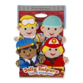 Melissa & Doug Bábjáték: Segítő kezek (Foglalkozások)