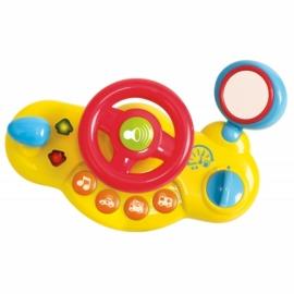Playgo - Bébi autó műszerfallal hanggal és fénnyel