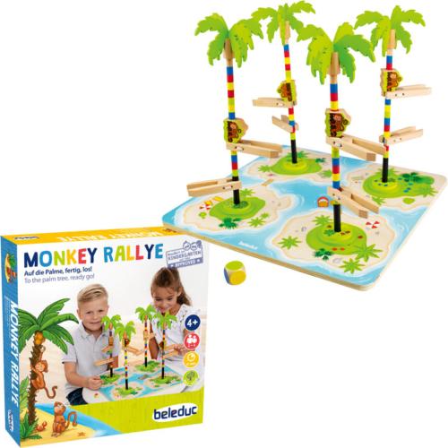 Monkey Rally - Fára mászó majmok versenye - Beleduc