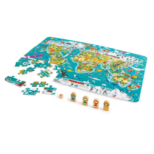 utazz a vilag korul puzzle hape