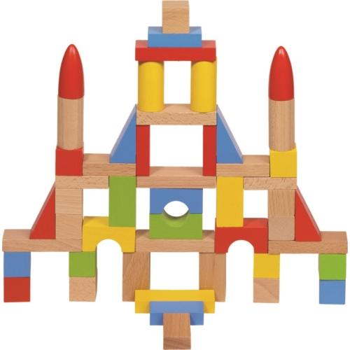 Fa építőkocka - Goki
