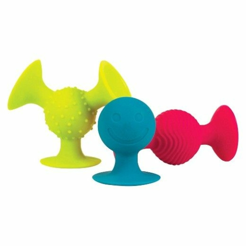 Squigz: Tapadós építő kicsiknek - Fat Brain Toys