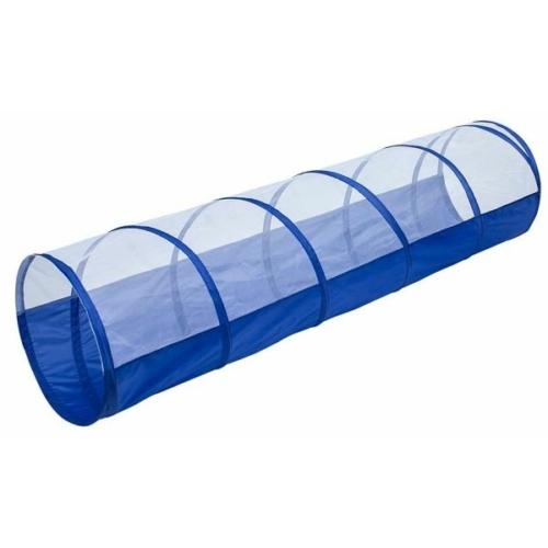 Bújócskacső - Kék és átlátszó - 180 cm