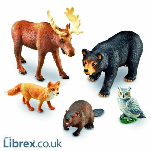 Jumbo: Erdei állatok - Learning Resources