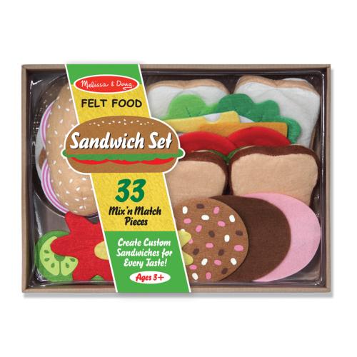 Melissa & Doug Sütés-főzés, Filc szendvics készítő