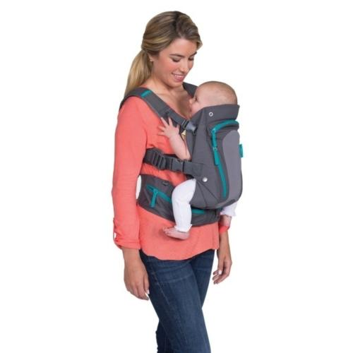 Infantino - Carry On Multi-Pocket hordozó kenguru