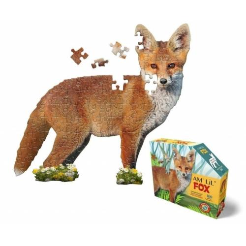 Róka Puzzle Junior (100 db) - Wow Toys