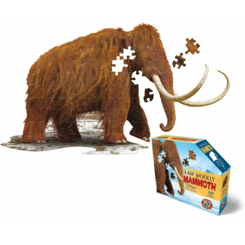 Gyapjas mamut Puzzle Junior (100 db) - Wow Toys