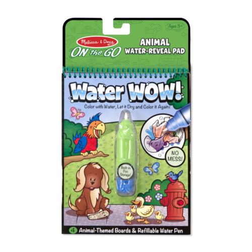 Melissa & Doug - Állatos kreatív játék, rajzolás vízzel