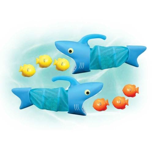Spark Shark: Éhes cápák vízi játék - Melissa & Doug