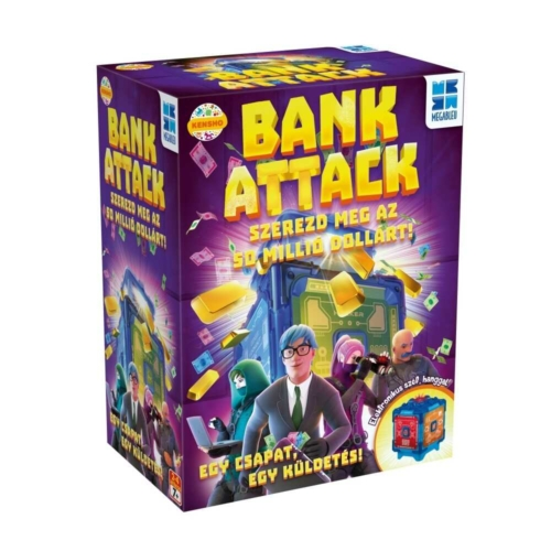 Bank Attack társasjáték - Megableu