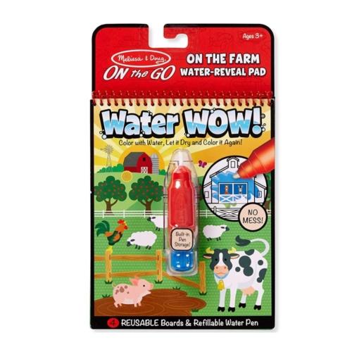 Melissa & Doug - Kreatív játék, Rajzolás vízzel, farm