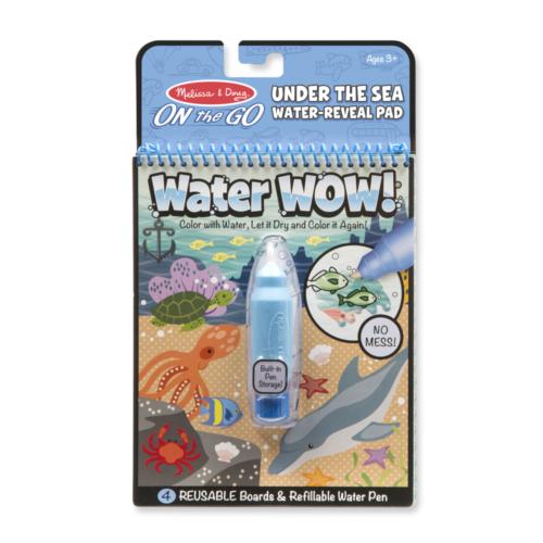 Melissa & Doug -  Tengeres kreatív játék, Rajzolás vízzel,
