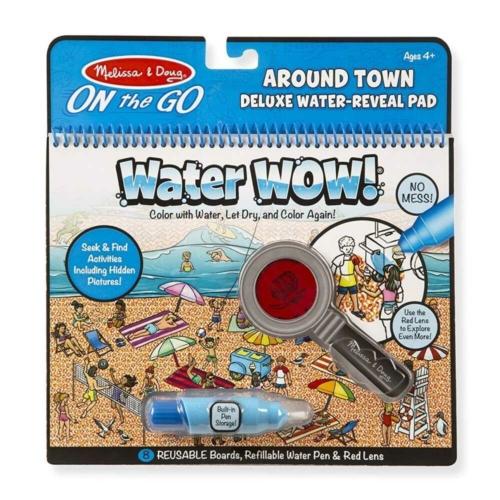 Melissa & Doug - Rajzolás vízzel Deluxe: A város körül