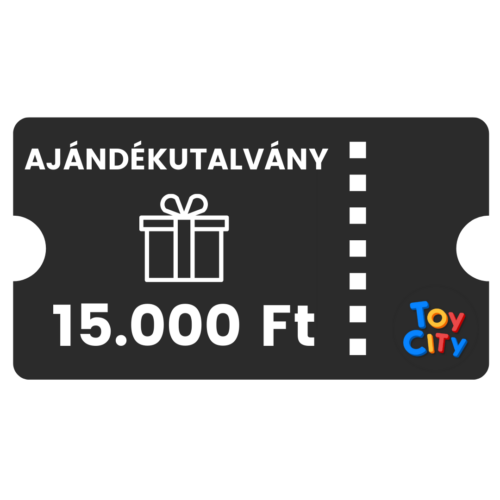 15.000 Ft értékű toycity.hu ajándékkupon