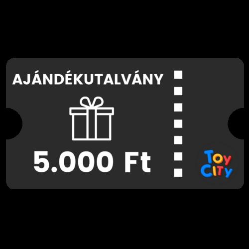 5.000 Ft értékű toycity.hu ajándékkupon