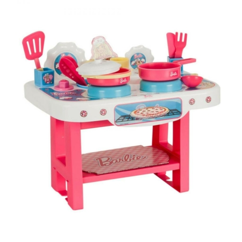 Barbie kis játékkonyhája, 18 kiegészítővel - Bildo
