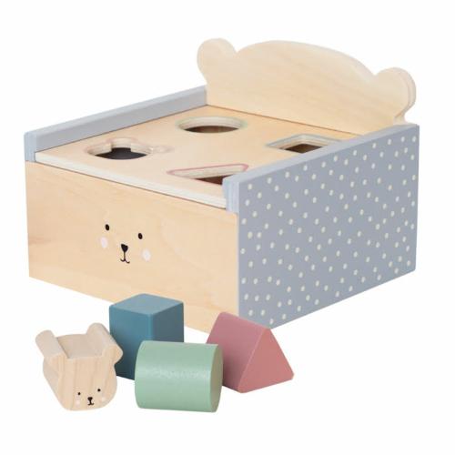 Formaválogató macis doboz - Jabadabado