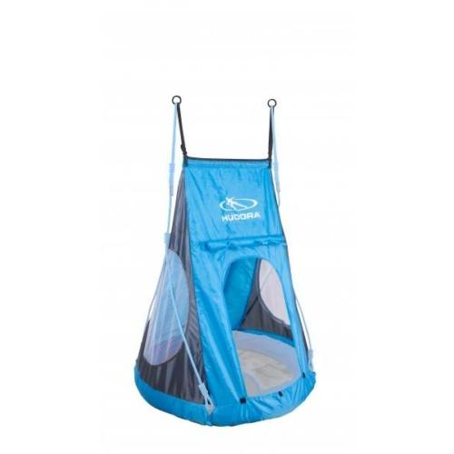 Sátor-kiegészítő fészekhintához (90 cm, kék) - Hudora 72154