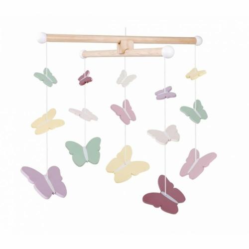 Ágyforgó Pillangók pasztell színekben - JaBaDaBaDo