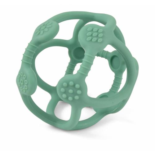 Fejlesztő szilikon labda zöld - Magni