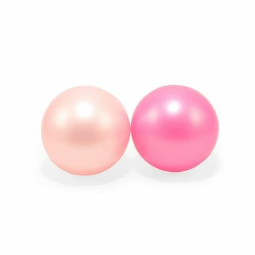 15 cm-es gumilabda pasztell rózsaszín 2 db - Magni
