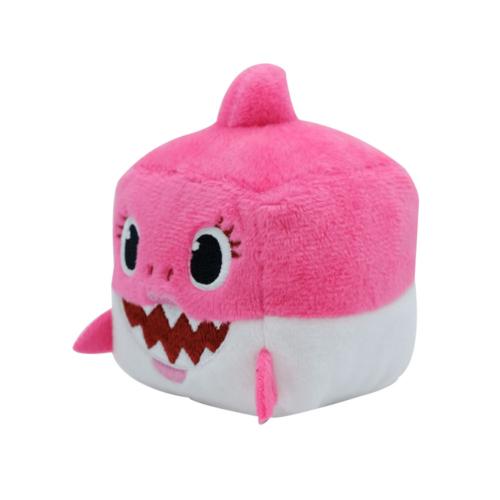 Baby Shark Zenélő kockaplüss - Anya cápa
