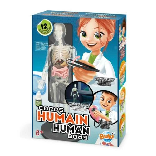 Tudományos készlet-Az emberi test - BUKI