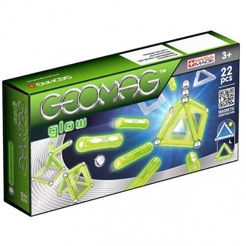 Geomag Glow - Foszforeszkáló szett 22 db-os
