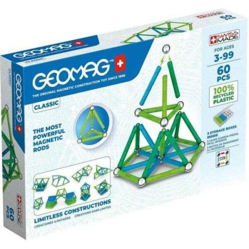 Geomag Classic Green Line 60db Geomag Classic Green Line 60db GEOMAG CLASSIC GREEN LINE 60DB