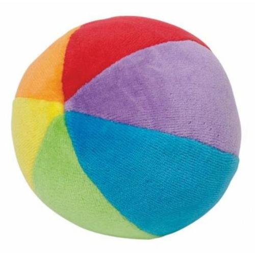 Plüss csörgős labda - Goki