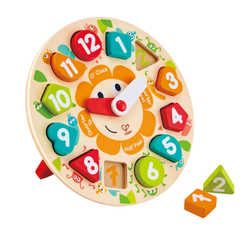 Hape - Mókás óra puzzle