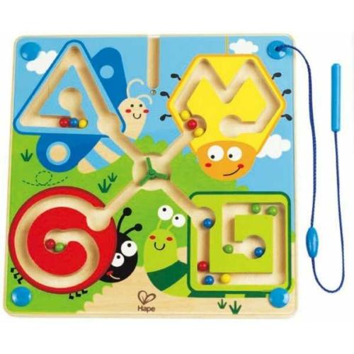 Hape - Vezesd a helyére! - Csigás mágneses íráselőkészítő játék