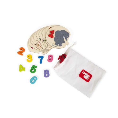 Tanulok számolni puzzle - Janod