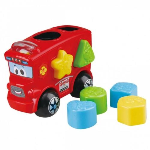 Playgo - Formaillesztő Tűzoltóautó