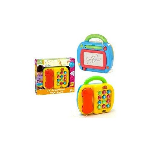 Playgo -  2 az 1-ben Telefon és Rajztábla
