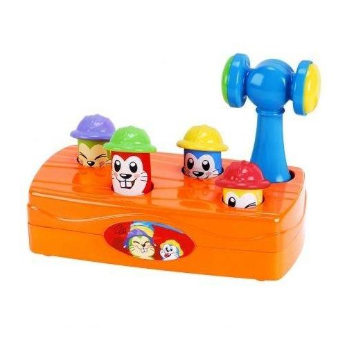 Playgo -  Fürge Ürgék - Kalapálós babajáték