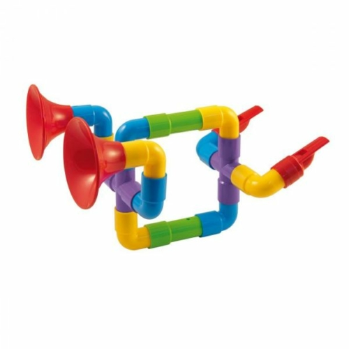 Quercetti: Építhető Szaxofon szuper szett 24 db-os