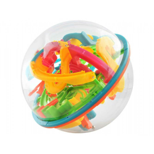3D Okosgolyó labirintussal