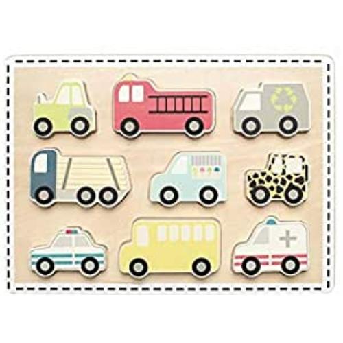 Fa puzzle Autók - Jabadabado