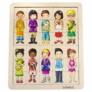 Kép 1/2 - Gyerekek a világból - Vidám párosítójáték - Beleduc