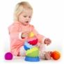 Kép 4/6 - Tobbles Neo: Színes dínótojás építő - Fat Brain Toys