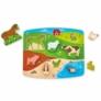 Kép 1/3 - Hape - Farm - Játék és puzzle egyben