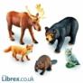 Kép 1/3 - Jumbo: Erdei állatok - Learning Resources
