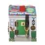 Kép 4/4 - Melissa & Doug Fa készségfejlesztő játék, Ház kulcsokkal, csengőkkel és figurákkal